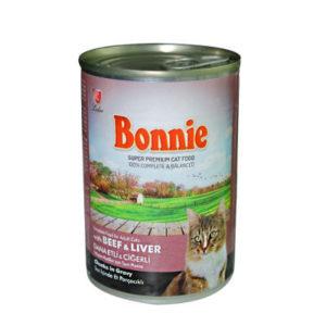 Bonnie Dana Etli Ciğerli Kedi Konservesi 400 gr