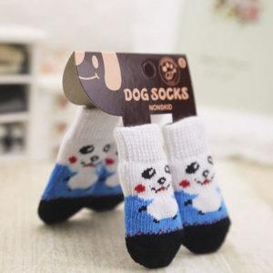 Kaymayan Yavru Köpek Çorabı